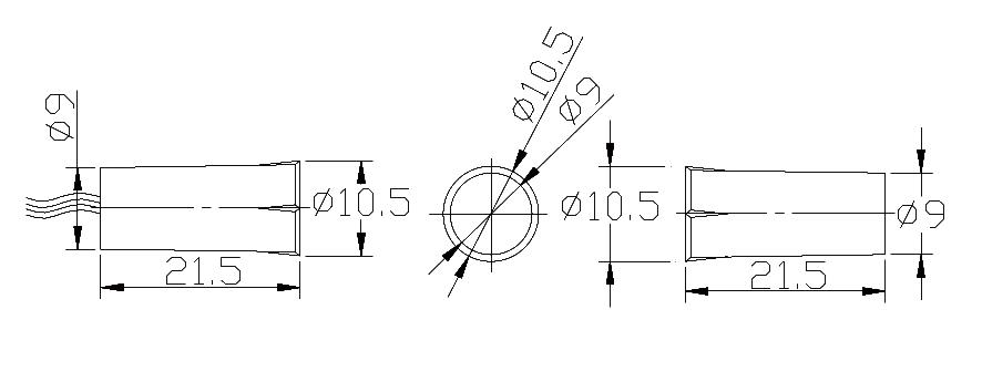 产品说明  外壳材料:abs 外观尺寸:11*24mm  工作距离:20-25mm  开关